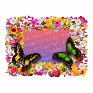 Flower Garden Frame 4X6 Acrylic Cut Outs