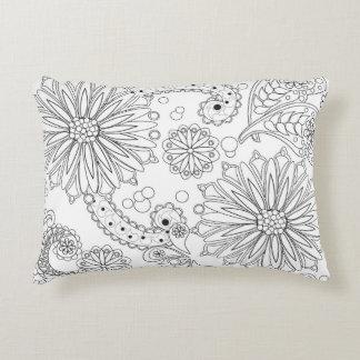 Flower Garden Galaxy Accent Pillow 16 x 12