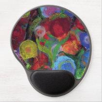 Flower Garden Gel Mouse Pad