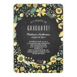 Flower Garden   Graduation Party Invitation