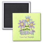 Flower Garden Grandma Magnet
