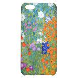Flower Garden, Gustav Klimt Case For iPhone 5C
