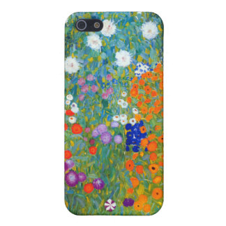 Flower Garden, Gustav Klimt Case For iPhone SE/5/5s