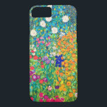 """Flower Garden, Gustav Klimt iPhone 8/7 Case<br><div class=""""desc"""">Gustav Klimt (July 14, 1862 – February 6, 1918) was an Austrian symbolist painter and one of the most prominent members of the Vienna Secession movement. Klimt is noted for his paintings, murals, sketches, and other objets d'art. In addition to his figurative works, which include allegories and portraits, he painted...</div>"""