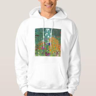 Flower Garden, Gustav Klimt Hoodie