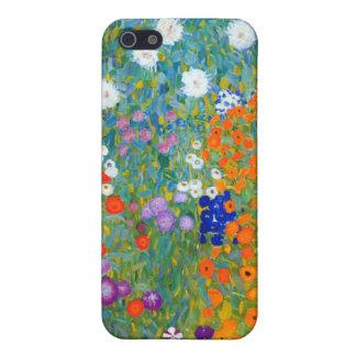 Flower Garden, Gustav Klimt iPhone SE/5/5s Cover