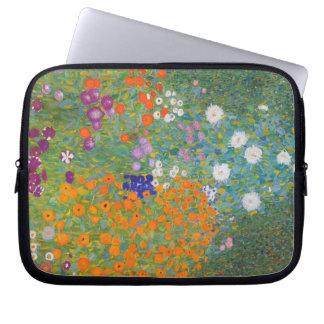 Flower Garden Gustav Klimt Laptop Sleeve
