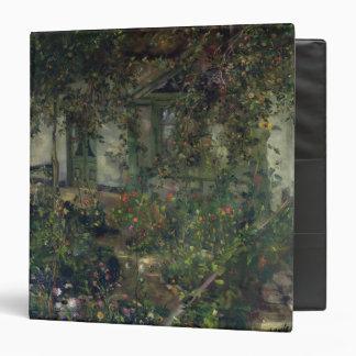 Flower garden in bloom, 1904 vinyl binders