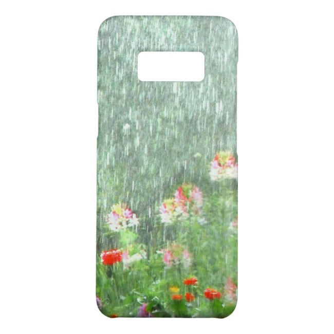 Flower Garden in the Rain Galaxy S8 Case