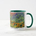 Flower Garden Inspirational Quote Mug