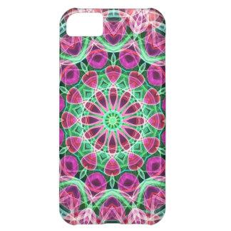 Flower Garden kaleidoscope Cover For iPhone 5C