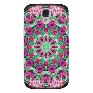 Flower Garden kaleidoscope Samsung Galaxy S4 Cover