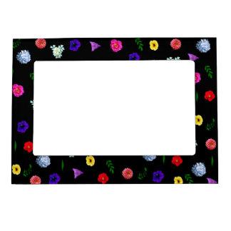 Flower Garden Magnetic Picture Frame