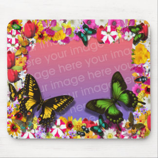 Flower Garden Mouse Pad