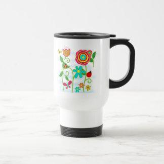 Flower Garden Coffee Mugs