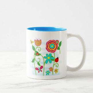 Flower Garden Coffee Mug