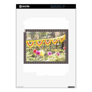Flower Garden n garland decorations at SurajKund Decals For The iPad 2