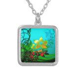 flower garden necklaces