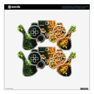 Flower garden parks nature greetings american gift PS3 controller decal