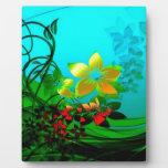flower garden photo plaques