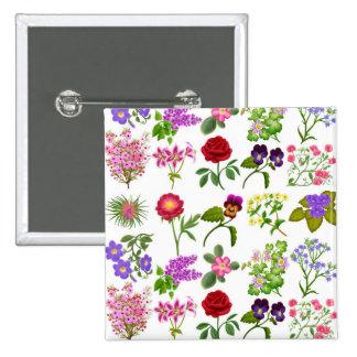 Flower Garden Pin