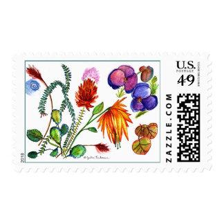 Flower Garden Postage
