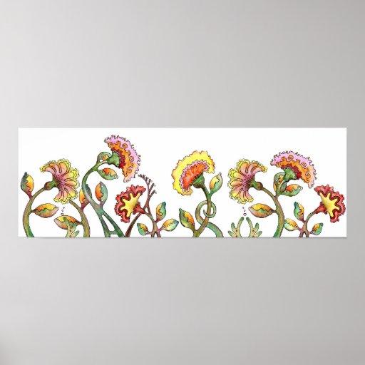 Flower Garden Posters