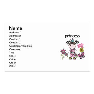 Flower Garden Princess Business Card Template