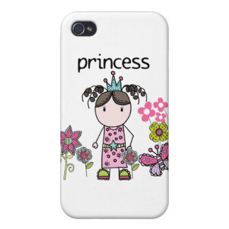 Flower Garden Princess Covers For iPhone 4