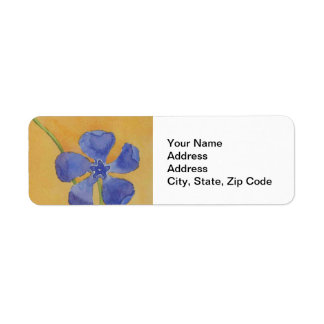 Flower Garden Return Address Label