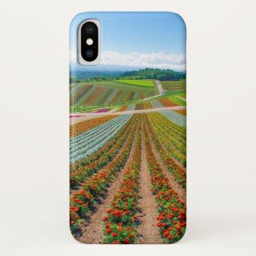 Flower Garden | Shikisai No Oka Flower Farm iPhone X Case