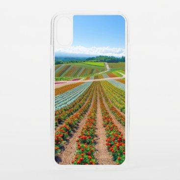 Flower Garden | Shikisai No Oka Flower Farm iPhone XS Case