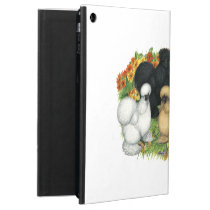 Flower Garden Silkies Case For iPad Air
