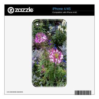 Flower Garden Skin For The iPhone 4