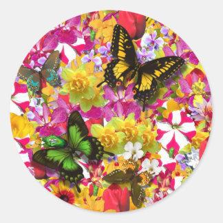 Flower Garden Stickers