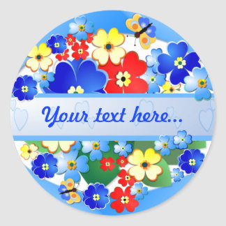 Flower Garden ~  Sticker