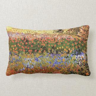 Flower Garden,Vincent van Gogh. Pillow