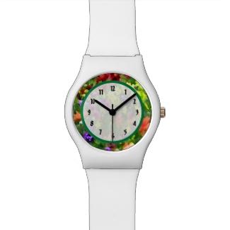 Flower Garden Watch