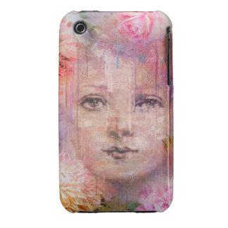 Flower Garden Woman Paint Dripping iPhone 3 Case-Mate Case