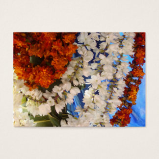 Flower Garlands India Business Card