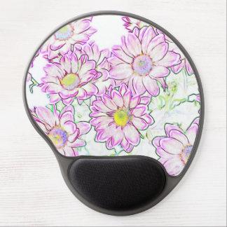 Flower Gel Mouse Pad
