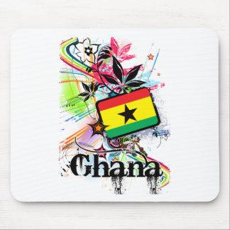 Flower Ghana Mouse Pad