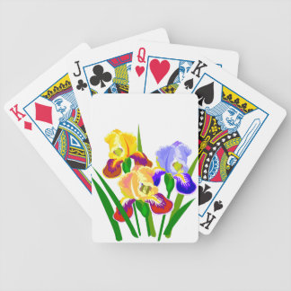 Flower Gifts Bicycle Playing Cards
