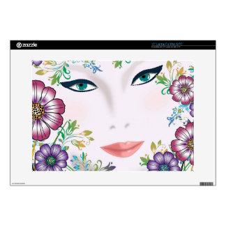 """Flower Girl 15"""" Laptop Skin for Mac & PC"""