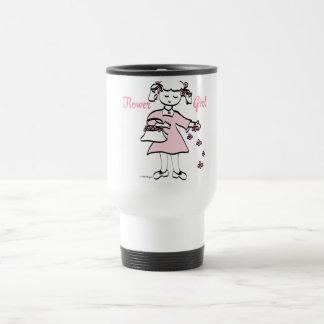 Flower Girl 15 Oz Stainless Steel Travel Mug