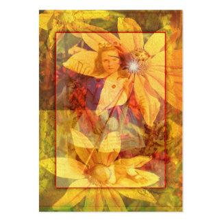 Flower Girl - Artist Trading Cards Business Cards