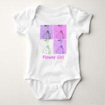 Flower Girl Baby Bodysuit