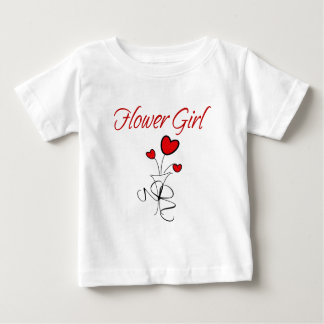 Flower Girl Baby T-Shirt