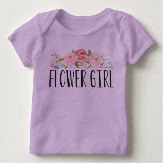 Flower Girl Baby Tee | Bridesmaid
