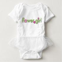 Flower Girl Baby Tutu Baby Bodysuit